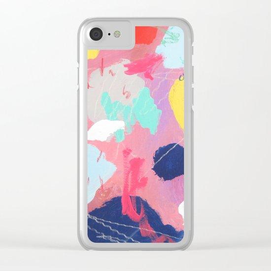 nuru #134 Clear iPhone Case