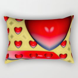 From the bottom of hearts ... Rectangular Pillow