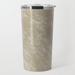 White gold velvet Travel Mug