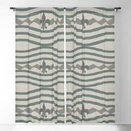 Corduroy Pattern Lines Blackout Curtain