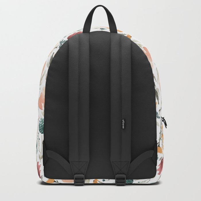 Deep Florals Backpack