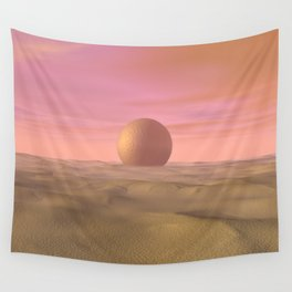 Desert Dream of Geometric Proportions Wall Tapestry