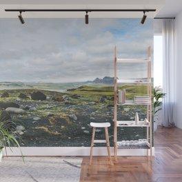 Volcanic Landscape Wall Mural