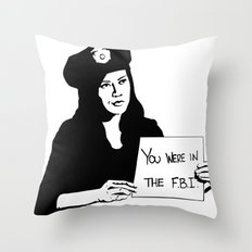 It's been a pleasure serving with you, son. Throw Pillow