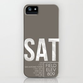 SAT iPhone Case
