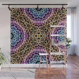Floral Wrought Iron G80 Wall Mural