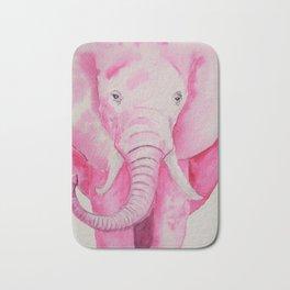 Fuchsia Elephant Bath Mat