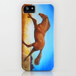 The Race Horse iPhone Case