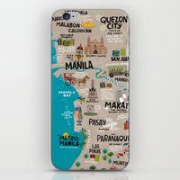 philippines iPhone & iPod Skins featuring Metro Manila, Philippines by Reg Silva / Wedgienet.net
