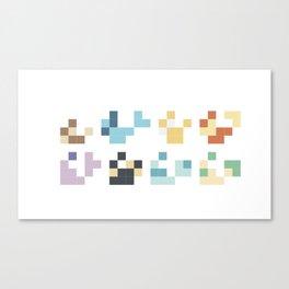 The Elementals Canvas Print