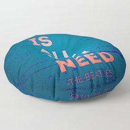 Quotable quotes summer Floor Pillow