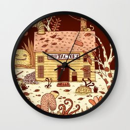 Eureka Factory Wall Clock