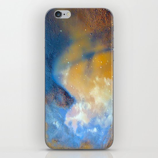 Sky in a puddle... iPhone & iPod Skin