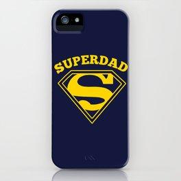 Superdad | Superhero Dad Gift iPhone Case
