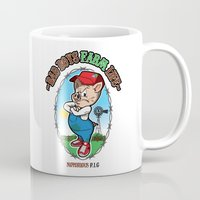 notorious Mugs featuring NOTORIOUS P.I.G by benny the kid