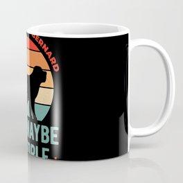 I Like My Saint Bernard Funny Coffee Mug