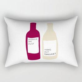 Love wine Rectangular Pillow