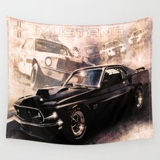 Ford Mustang Boss 557 Wall Tapestry