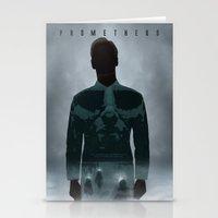 prometheus Stationery Cards featuring Prometheus by Luke Eckstein