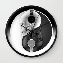 Headphone Harmony Wall Clock