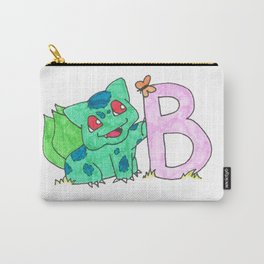B is for Bulb A Saur Carry-All Pouch