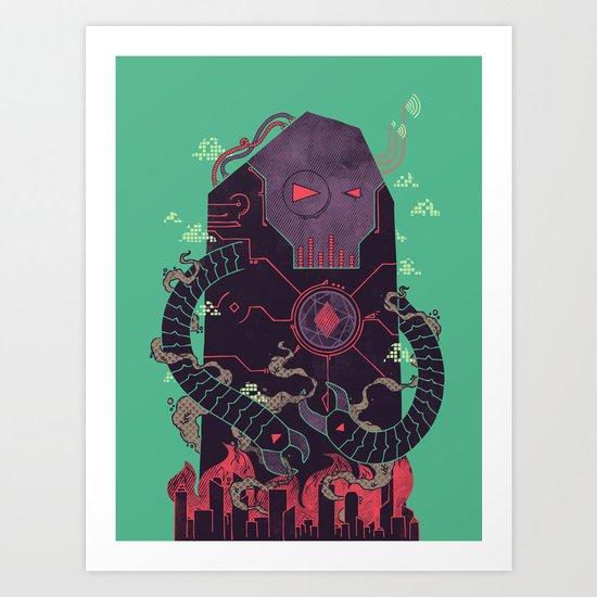 Operate, Annihilate Art Print