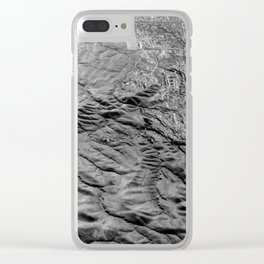 Amazing Earth - Chromatic Mountains Clear iPhone Case