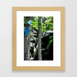 Where in the Blue Blazes? Framed Art Print