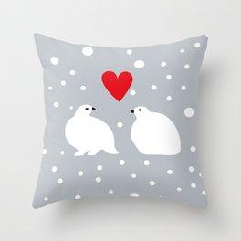 ripa, in love Throw Pillow