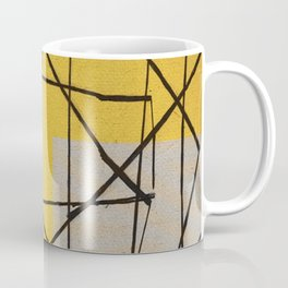 Fenced Beach Coffee Mug