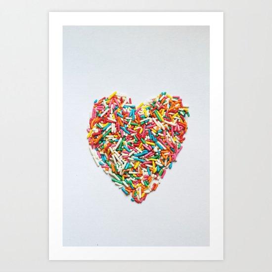 Sprinkles Party I Art Print