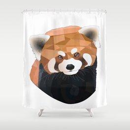 Red Panda Shower Curtain