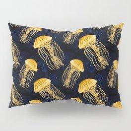 Galaxy Jellyfish Pattern Pillow Sham