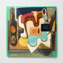 Louis Marcoussis The Zither Metal Print