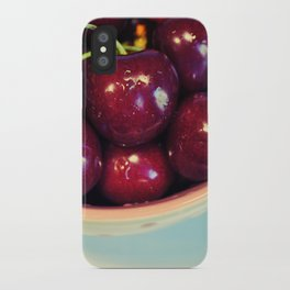 Cherry Blues II iPhone Case