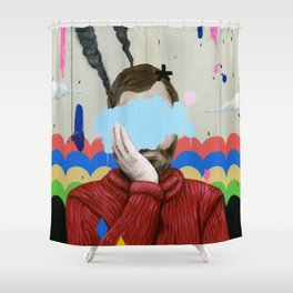 SAD Shower Curtain