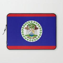 Flag of Belize Laptop Sleeve