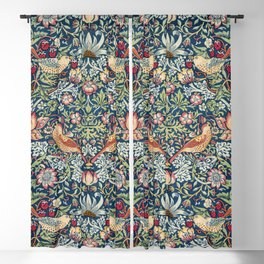 Strawberry Thief by William Morris  Blackout Curtain