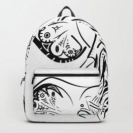 Elephant Zen Doodle Backpack