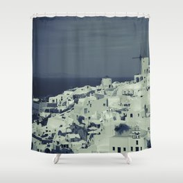Santorini, Greece 2 Shower Curtain