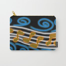 Musical Leaves Carry-All Pouch