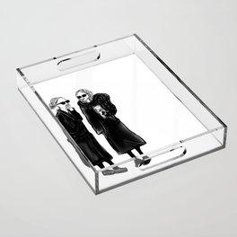 mary-kate n ashley 4 eva Acrylic Tray