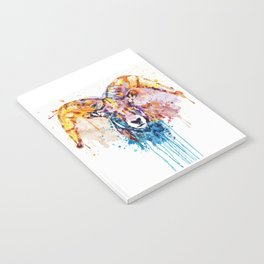 Bighorn Sheep Portrait Notebook