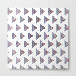 Patterned Geometry Metal Print