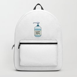 Hand Sanitizer Gel with 70% Alcohol Backpack