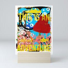 ESTEBAN WAS EATEN! - DIGITAL TEST PRINT 018 Mini Art Print