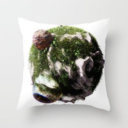 Planet #002 Throw Pillow