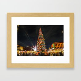 a spanish chirstmas Framed Art Print