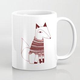Hipster fox Coffee Mug