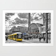 Berlin Alexanderplatz Art Print